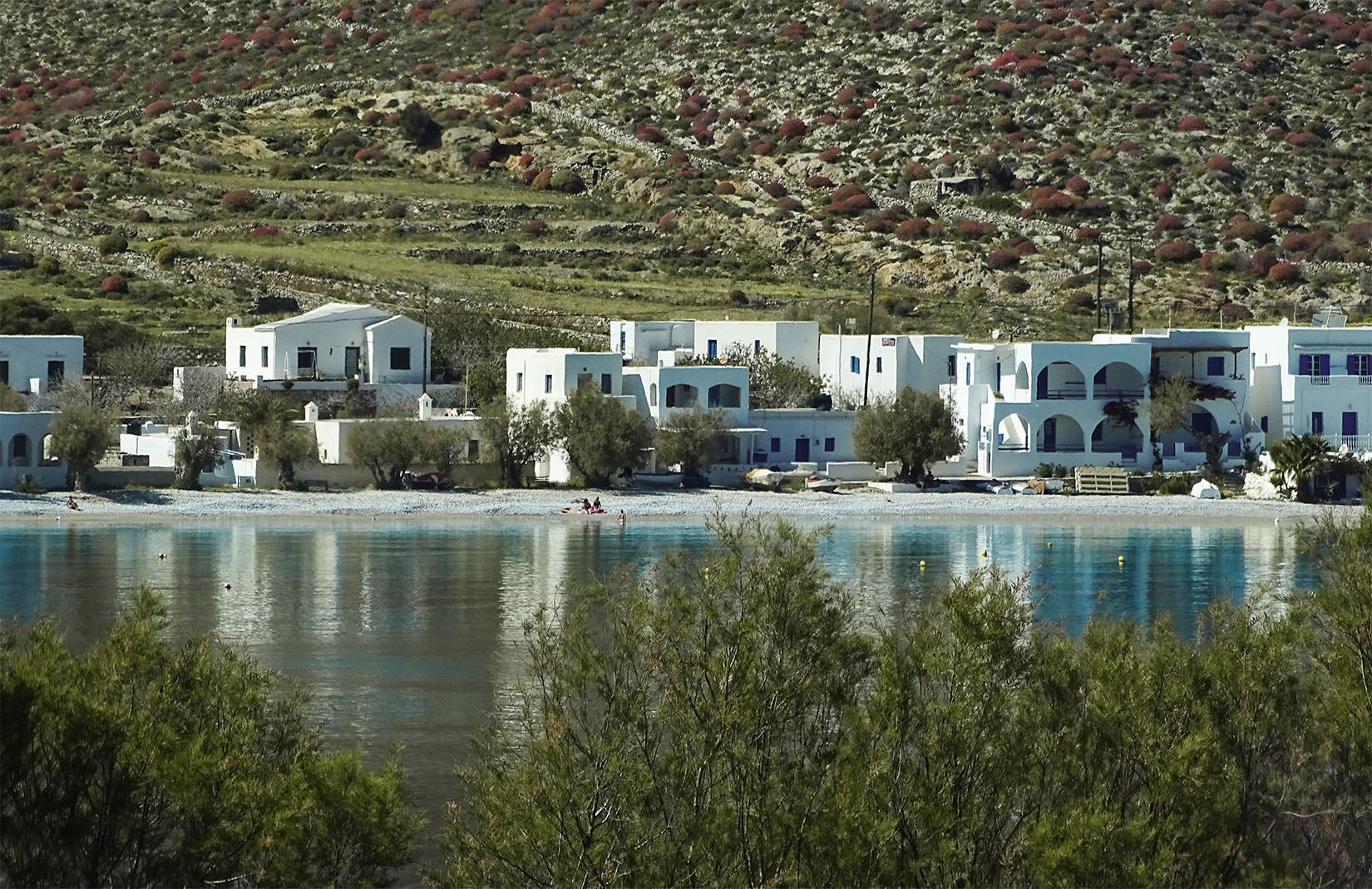 Folegandros Hotels | Chochlidia Beach