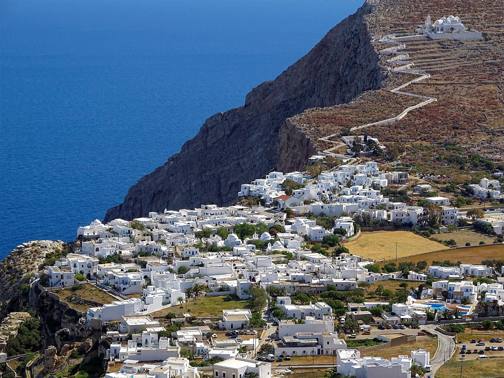 Folegandros Hotels Chora